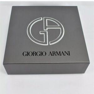 """GIORGIO ARMANI Empty Gift Box 7.5 x 7.5 x 2.5"""""""